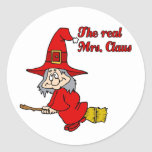 Real Mrs Claus Sticker