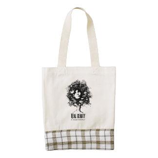 Real Natural Beauty Zazzle HEART Tote Bag