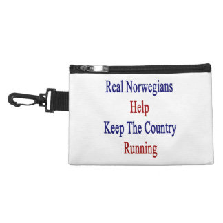 Real Norwegians Help Keep The Country Running. Accessory Bag