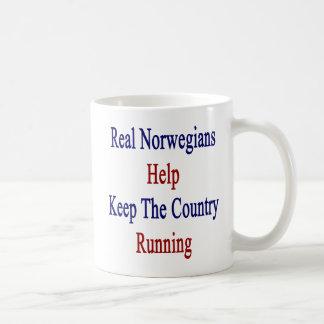 Real Norwegians Help Keep The Country Running. Coffee Mug