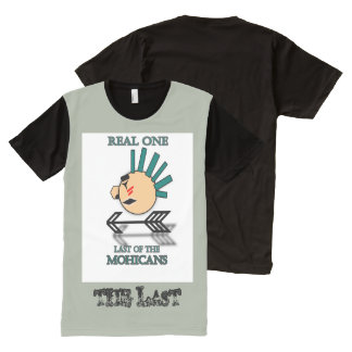 Real One CO. last of the Mohicans All-Over Print T-shirt