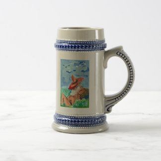 REAL OR IMAGINARY STEIN 18 OZ BEER STEIN