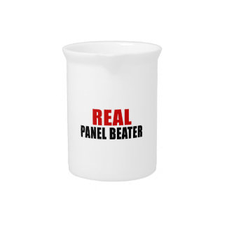 REAL PANEL BEATER DRINK PITCHER