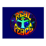 Real Peace Postcard