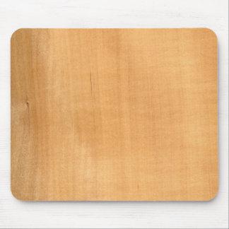 Real Pearwood Veneer Woodgrain Mouse Pad