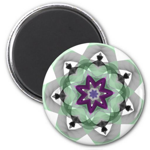 Real Person 2 Inch Round Magnet