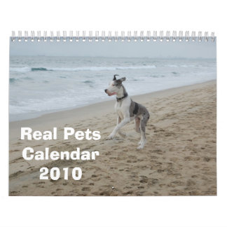 Real Pets 2010 Calendar (revised)
