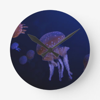 Real photo taken of jelly fish clock