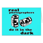 real photographers greeting card