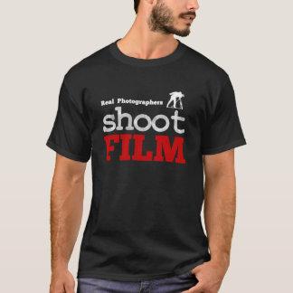 Real Photographers Shoot Film T-Shirt Black, Large