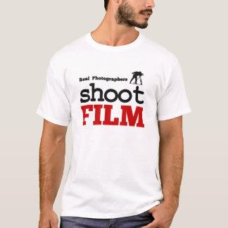 Real Photographers Shoot Film T-Shirt White, Large