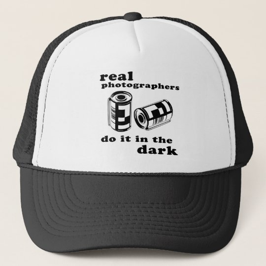 real photographers trucker hat