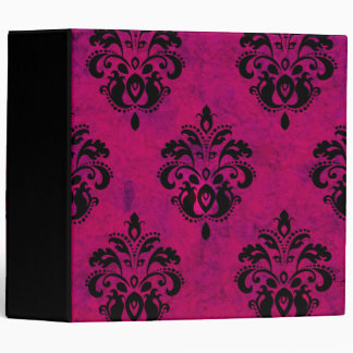 Real Pink Classy Upscale Fluer Album 3 Ring Binder