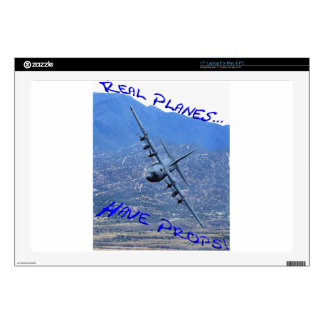REAL PLANES HAVE PROPS LAPTOP SKINS