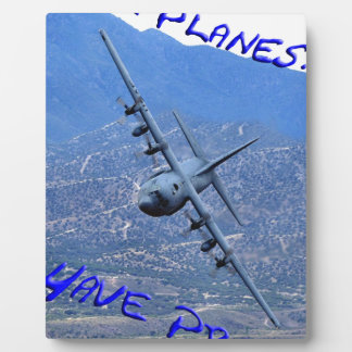 REAL PLANES HAVE PROPS PLAQUE