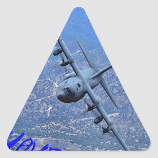 REAL PLANES HAVE PROPS TRIANGLE STICKER