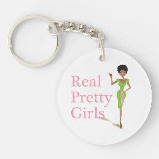 Real Pretty Girls Keychain