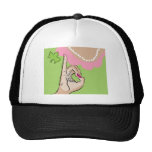 Real Pretty Girls Pink and Pearls Trucker Hat