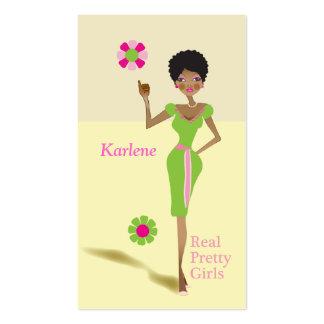 Real Pretty Girls Sorority Girls Business Card