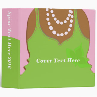 Real Pretty Pink Extra Large Binder