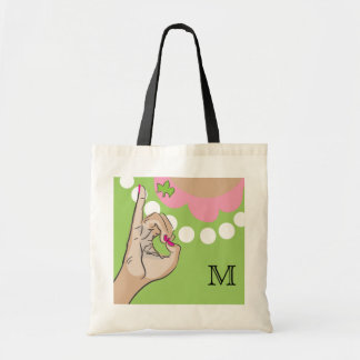 Real Pretty Pink illustration Tote Bag