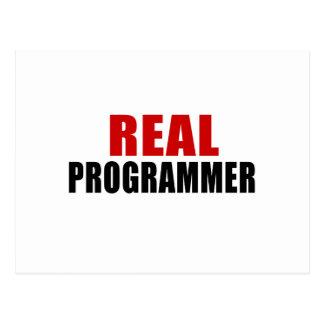 REAL PROGRAMMER POSTCARD