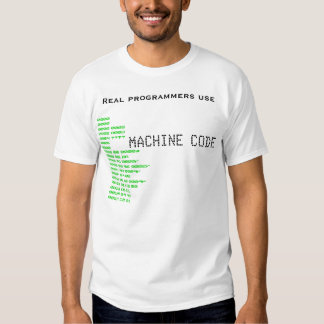 Real programmers tees