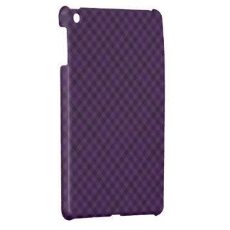 Real púrpura en tela escocesa