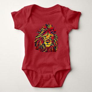 4193fef74 Baby Rasta Lion Onesies & Bodysuits   Zazzle