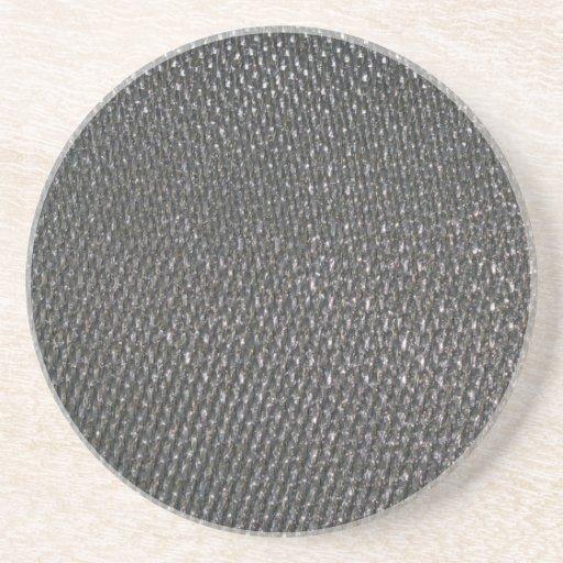 Real RAW Carbon Fiber Textured Coaster