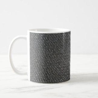 Real RAW Carbon Fiber Textured Coffee Mug