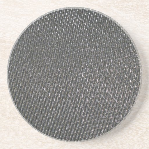 Real RAW Carbon Fiber Textured Drink Coaster