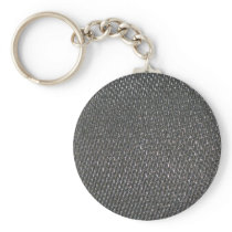 Real RAW Carbon Fiber Textured Keychain