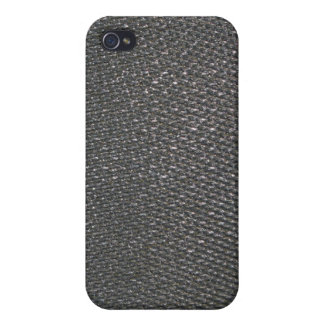 Real RAW Carbon Fiber Textured Photo iPhone 4/4S Cases