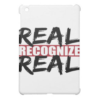 real recognize real iPad mini cases
