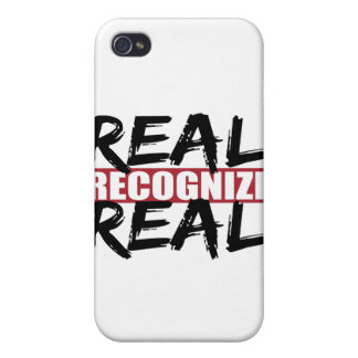 real recognize real iPhone 4/4S covers