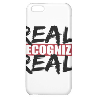 real recognize real iPhone 5C cases