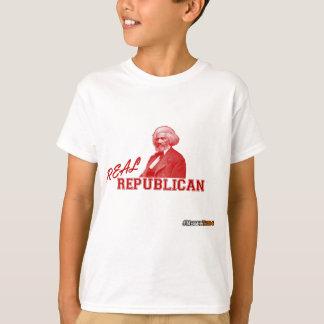 Real Republican, Frederick Douglass, Never Trump T-Shirt