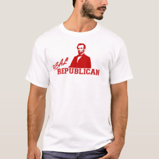 Real Republican, Lincoln T-Shirt