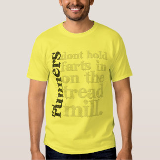 Real Runners Don't... T-Shirt