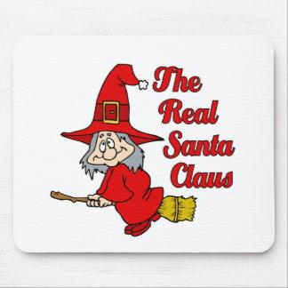 Real Santa Claus Mouse Pad