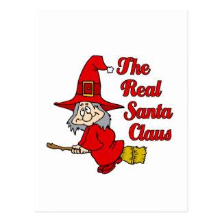 Real Santa Claus Postcard