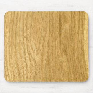Real Scanned Crown Cut Oak Veneer Mouse Pad