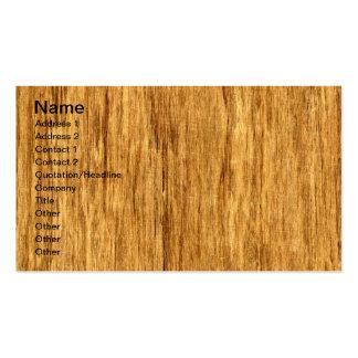 Real Scanned San Domingo Rosewood Veneer Woodgrain Double-Sided Standard Business Cards (Pack Of 100)