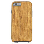 Real Scanned San Domingo Rosewood Veneer Woodgrain iPhone 6 Case