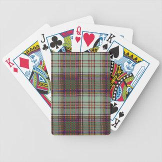 Real Scottish tartan - Anderson - Drawn by Nekoni Bicycle Playing Cards