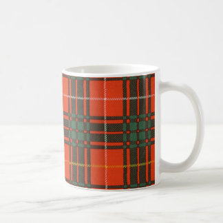 Real Scottish tartan - Bruce - Drawn by Nekoni Coffee Mug