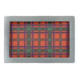Real Scottish tartan - Dalzell - Drawn by Nekoni Belt Buckle