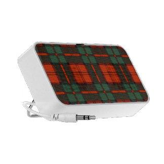 Real Scottish tartan - Dunbar iPod Speakers