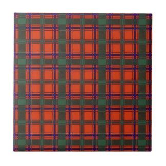 Real Scottish tartan - Dunbar Ceramic Tile